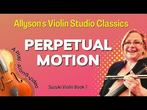 Perpetual Motion, Suzuki violin Book 1, 16th note variation