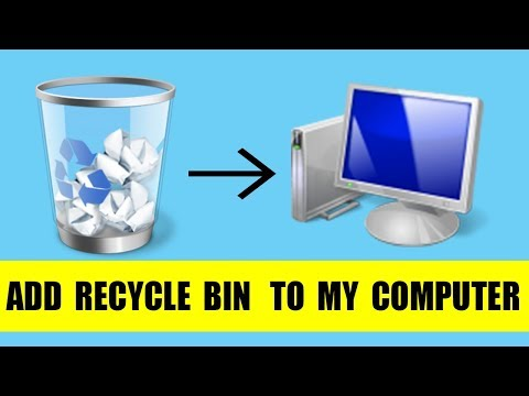 Registry Tricks   How To add Recycle Bin to My Computer in windows 7 or vista