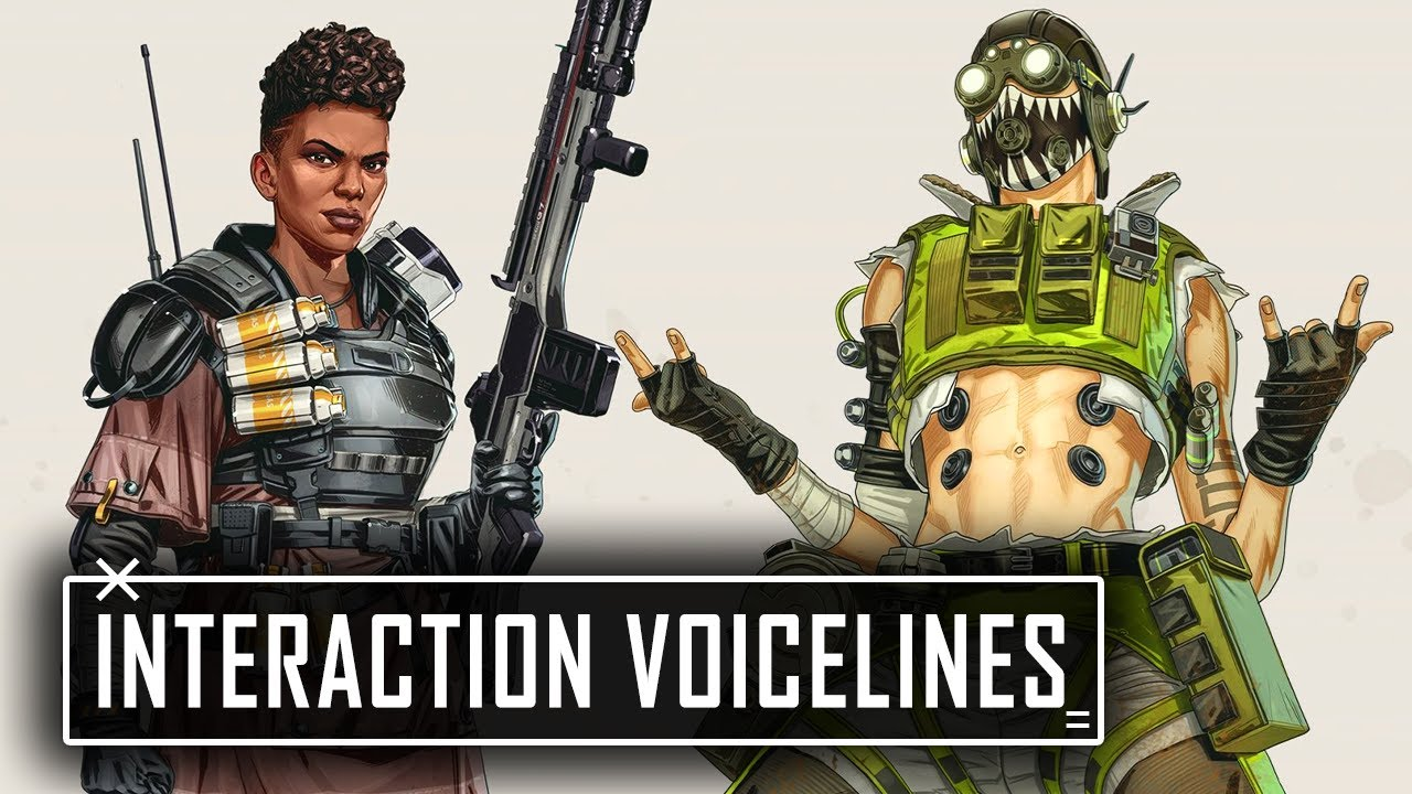 All OCTANE & BANGALORE Interaction Voicelines in Apex Legends