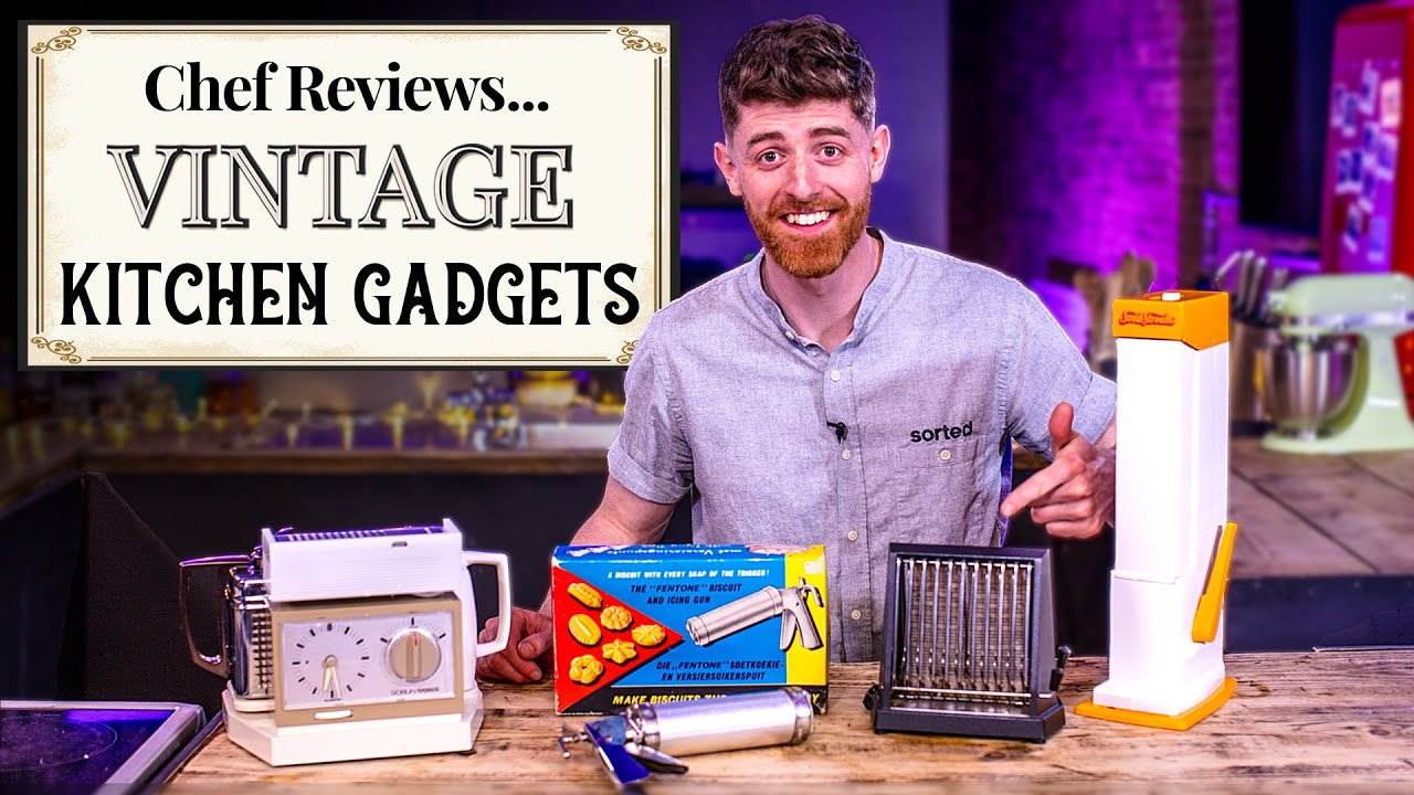 A Chef Reviews VINTAGE Cooking Gadgets | SORTEDfood