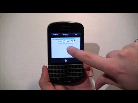 Q Tips: Selecting and Editing Text on the BlackBerry Q10 (OS 10.2.1)