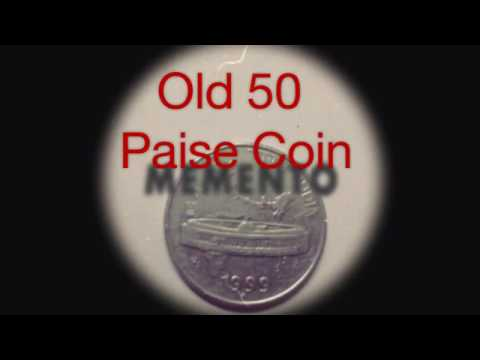 Coin Collection | India | 50 paise Old Coin