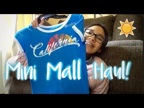 Mini Mall Haul!