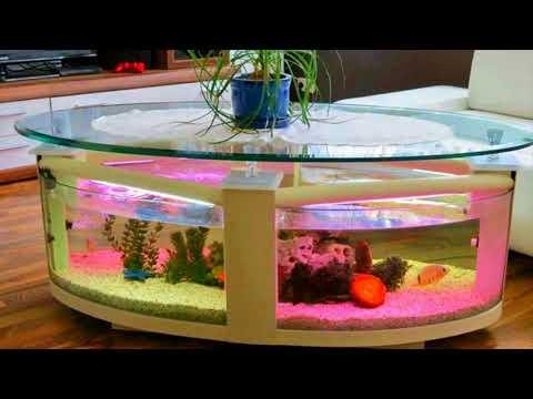 Coffee Table Design Aquarium  Fish Tank Decorating Ideas 2017
