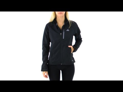 Adidas Outdoor Women's Running Soft Shell Jacket | SwimOutlet.com