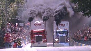 Big Trucks drag racing + 40000 HP TRUCK reaction engine