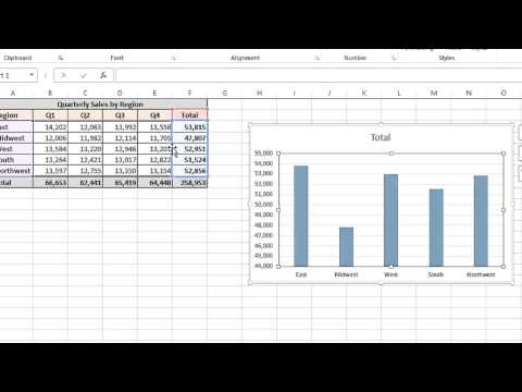 How to Change Series Data in Excel : MS Excel Tips
