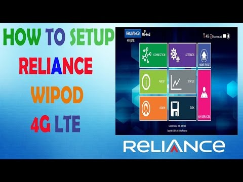 How to Setup Reliance Wi-Pod 4g LTE First Time USE and Fully Activate