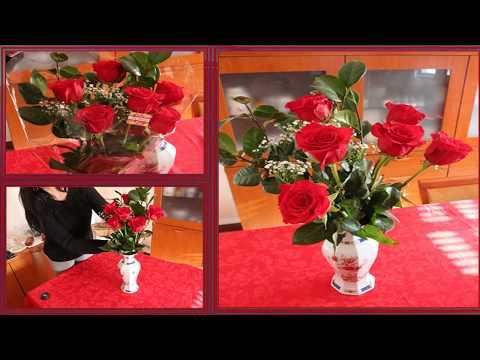 Easy Way to Keep Cut Flowers Fresh For Longer / Como Manter um Arranjo de Flores por Mais Tempo