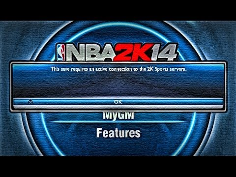 NBA 2K14 PS4 - Connection Error Fix! | How to connect to 2K Servers