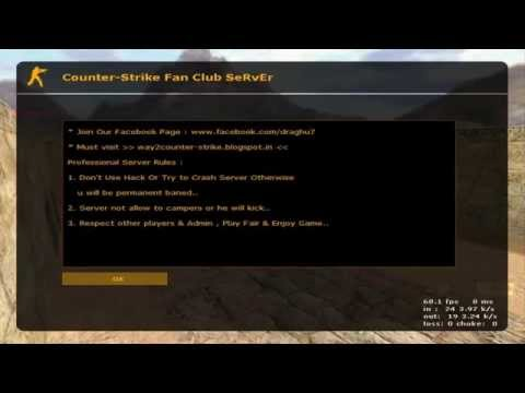 How to change motd in Counter-Strike 1.6 Dedicated Server [2014-2015]