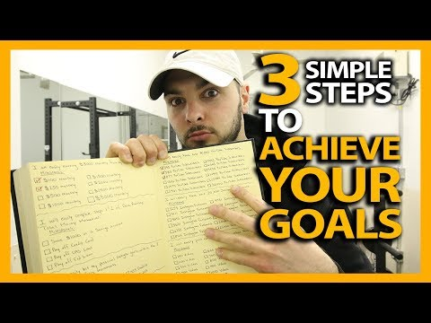 HOW TO ACHIEVE YOUR GOALS IN 3 SIMPLE STEPS! (My March 2018 Monthly Goals Summary)
