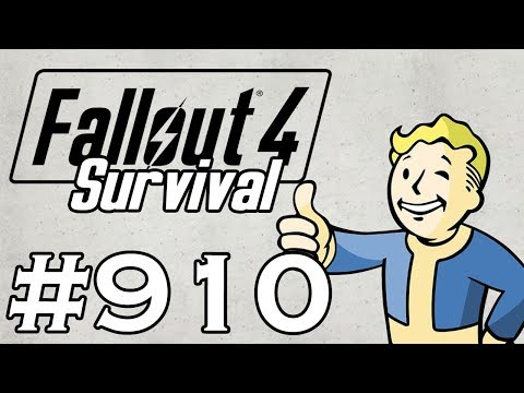Let's Play Fallout 4 - [SURVIVAL - NO FAST TRAVEL] - Part 910 - Rat Removal
