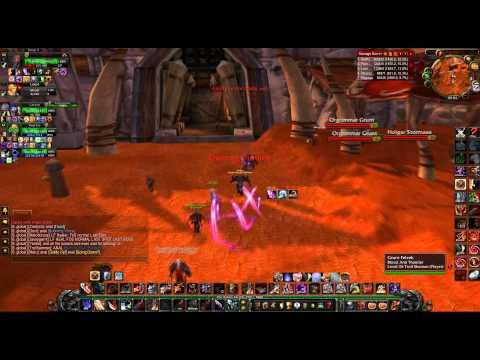 Failed Orgrimmar Raid in Molten-WoW. Warrior PoV with Skype.