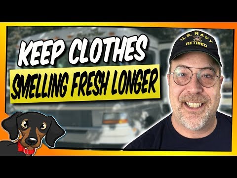 Keep clothes smelling fresh longer #81