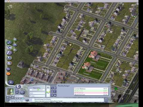 Let's Play SimCity 4 Base Footage Ep 5: Making Money Tutorial Pt 3