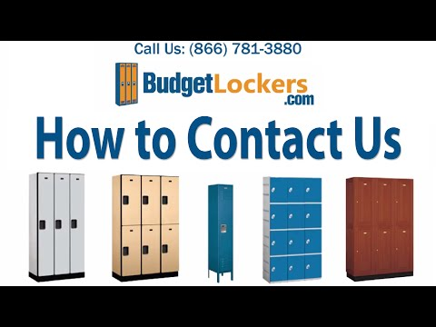 Budget Lockers | How to Contact Us