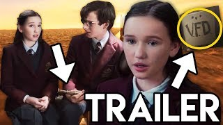 A Series of Unfortunate Events Season 2 Extended Trailer - Quagmires & VFD Explained