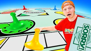World's BIGGEST Gameboard Of SORRY! Challenge