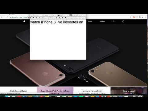 iPhone 8 Release Live( Apple Special Event) Coming Soon