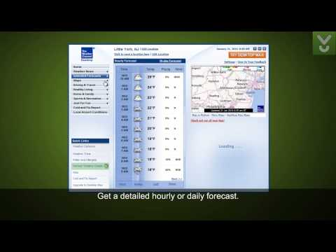 The Weather Channel Desktop - Access weather reports from your desktop - Download Video Previews