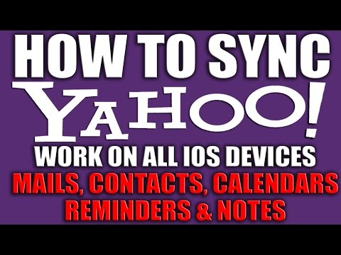How to Sync Your Yahoo Data using iOS Setup Wizard