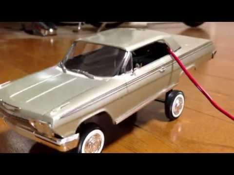 62IMPALA  HANDMADE HOPPER 1/24 model car LOWRIDER