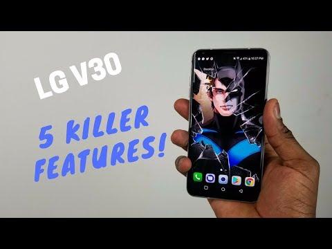 LG V30: 5 Killer Features