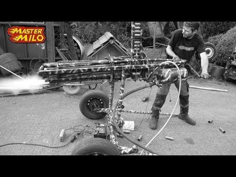 Potato machine gun - How does it work?