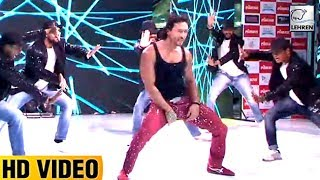 Tiger Shroff Dances In Pune To Promote Munna Michael   Nidhhi Agerwal   LehrenTV
