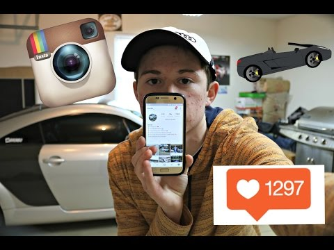 How To Make A Successful Car Instagram! ( FAST FOLLOWERS! )
