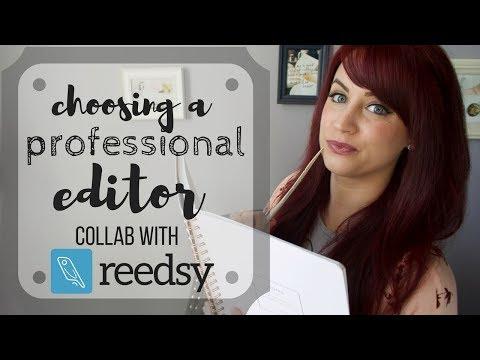 Reedsy Collab | Choosing a Professional Book Editor