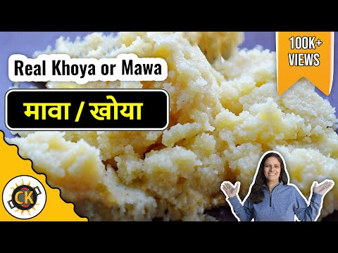 Real Khoya or Mawa in Microwave 3 Minute Recipe video by Chawlas Kitchen