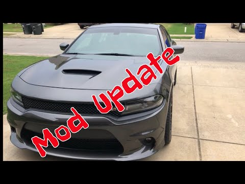 2018 Charger Scatpack modification update.