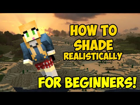 How to Shade your Minecraft Skin REALISTICALLY | FOR BEGINNERS
