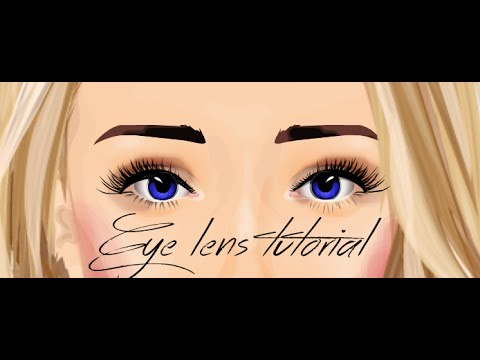 Stardoll eye lens tutorial || Hsm3rocks11011