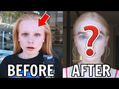 Getting Eyebrows Tinted for FIRST Time! 😱 *and why I don't have them*