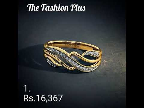 Diamond Rings Designs with PRICE By BLue Stone