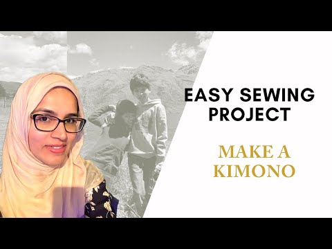 EASY SEWING PROJECT    MAKE A KIMONO: UNIT ON JAPAN