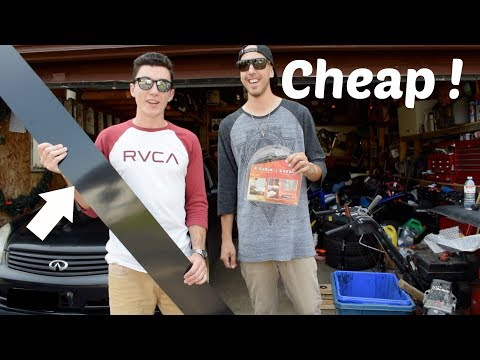 How to Make & Install Side Skirts - Infiniti G35