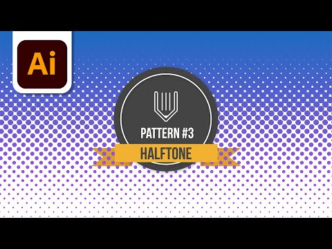 How to create halftone effect in Adobe illustrator