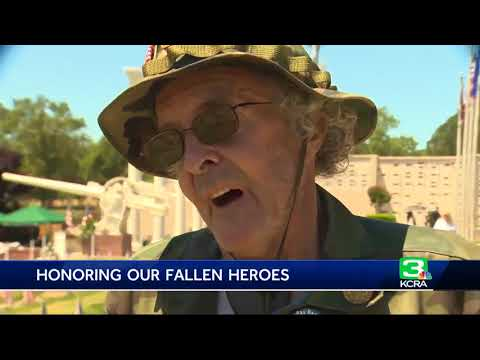 Thousands remember the fallen on Memorial Day at Fair Oaks park