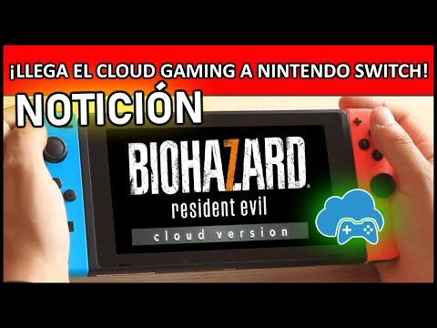¡¡LLEGA EL CLOUD GAMING a Nintendo Switch!! Resident Evil 7 Biohazard - PC Master Race