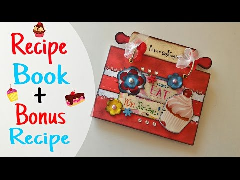 HTMT: #21 ♥ RECIPE BOOK + BONUS SWEET RECIPE