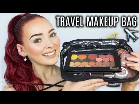 What's in my Travel Makeup Bag? | Makeup Essentials
