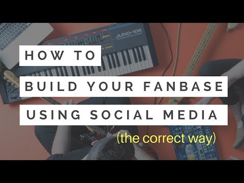 How To Build A Music Fanbase - Social Media Content Ideas