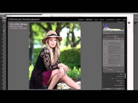 Creating Custom Vignette in Adobe Lightroom