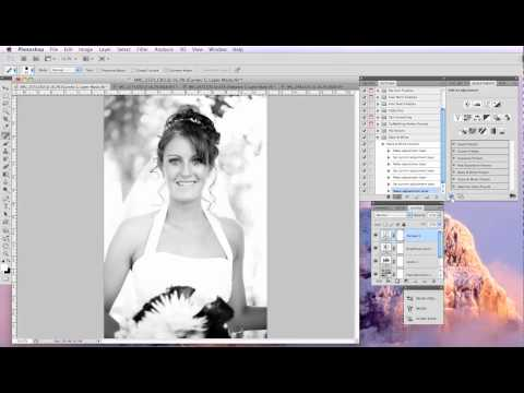 Creating and Saving Actions in Adobe Photoshop
