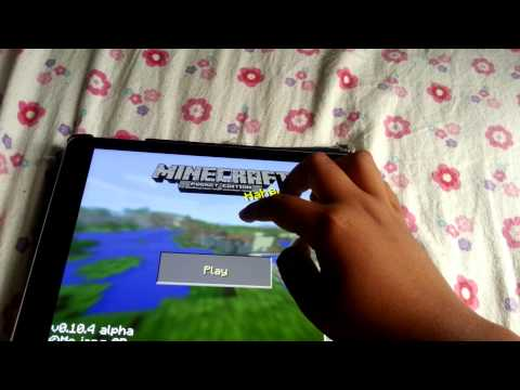 Minecraft pe 0.10.4 duplication trick