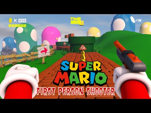 Mario First Person Shooter
